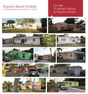 Apartamentos multi-familiares para Venda às 100 NE 17th Court Boynton Beach, Florida 33435 Estados Unidos