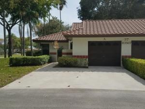 Property for sale at 10567 Garden Palm Court Unit: A, Boynton Beach,  FL 33437