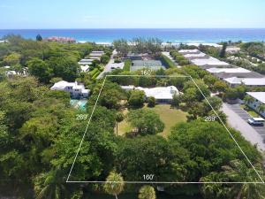 Terrain pour l Vente à 1008 N Ocean Boulevard 1008 N Ocean Boulevard Gulf Stream, Florida 33483 États-Unis