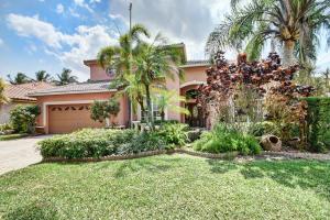 واحد منزل الأسرة للـ Sale في 22195 Braddock Place Boca Raton, Florida 33428 United States