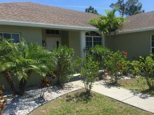Single Family Home for Rent at 2365 SW Vale Street 2365 SW Vale Street Port St. Lucie, Florida 34953 United States