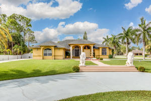 Single Family Home for Sale at 11512 Sunset Boulevard Royal Palm Beach, Florida 33411 United States