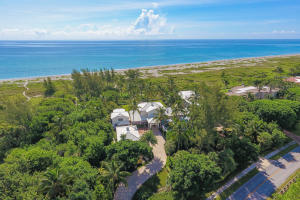 Single Family Home for Sale at 489 S Beach Road Hobe Sound, Florida 33455 United States