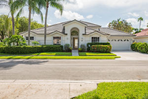 Single Family Home for Sale at 347 Eagleton Golf Drive Palm Beach Gardens, Florida 33418 United States