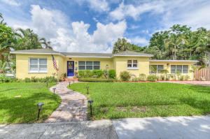 Single Family Home for Sale at 1815 Lake Avenue 1815 Lake Avenue West Palm Beach, Florida 33401 United States