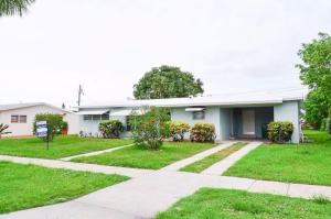 Single Family Home for Rent at Palm Springs Village, 141 Keller Drive Palm Springs, Florida 33461 United States