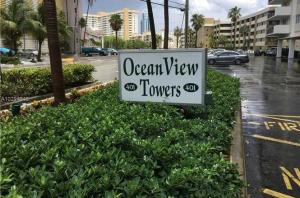 Condominium for Rent at OCEAN VIEW TOWERS CONDO, 401 Golden Isles Drive 401 Golden Isles Drive Hallandale Beach, Florida 33009 United States