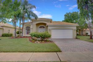 Maison unifamiliale pour l Vente à 9541 Taormina Street Lake Worth, Florida 33467 États-Unis