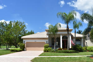 Single Family Home for Sale at 2142 Bellcrest Circle Royal Palm Beach, Florida 33411 United States