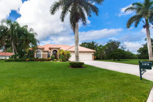 Single Family Home for Sale at 11870 Dunbar Court West Palm Beach, Florida 33412 United States