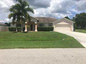 Single Family Home for Rent at 5338 NW South Crisona 5338 NW South Crisona Port St. Lucie, Florida 34986 United States