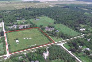 Terrain pour l Vente à 15591 40th Road 15591 40th Road Loxahatchee Groves, Florida 33470 États-Unis