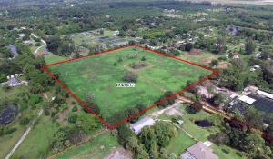 Terrain pour l Vente à 3793 D Road 3793 D Road Loxahatchee Groves, Florida 33470 États-Unis