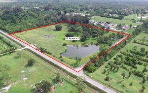 Terrain pour l Vente à 3779 D Road 3779 D Road Loxahatchee Groves, Florida 33470 États-Unis