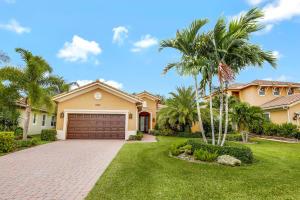 Casa Unifamiliar por un Venta en 12185 Aviles Circle 12185 Aviles Circle Palm Beach Gardens, Florida 33418 Estados Unidos