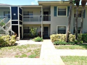 共管式独立产权公寓 为 出租 在 HUNTERS RUN, 61 Eastgate Drive 61 Eastgate Drive 博因顿海滩, 佛罗里达州 33436 美国