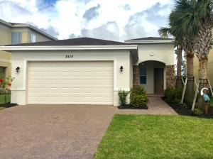 Maison unifamiliale pour l à louer à 2415 NW Padova Street 2415 NW Padova Street Port St. Lucie, Florida 34986 États-Unis