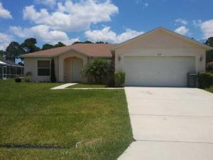 Single Family Home for Rent at 1649 SW Chicory Terrace 1649 SW Chicory Terrace Port St. Lucie, Florida 34953 United States