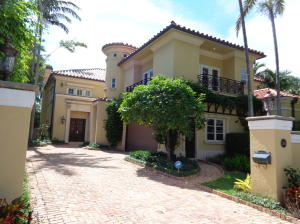 Townhouse for Sale at 330 Brazilian Avenue 330 Brazilian Avenue Palm Beach, Florida 33480 United States