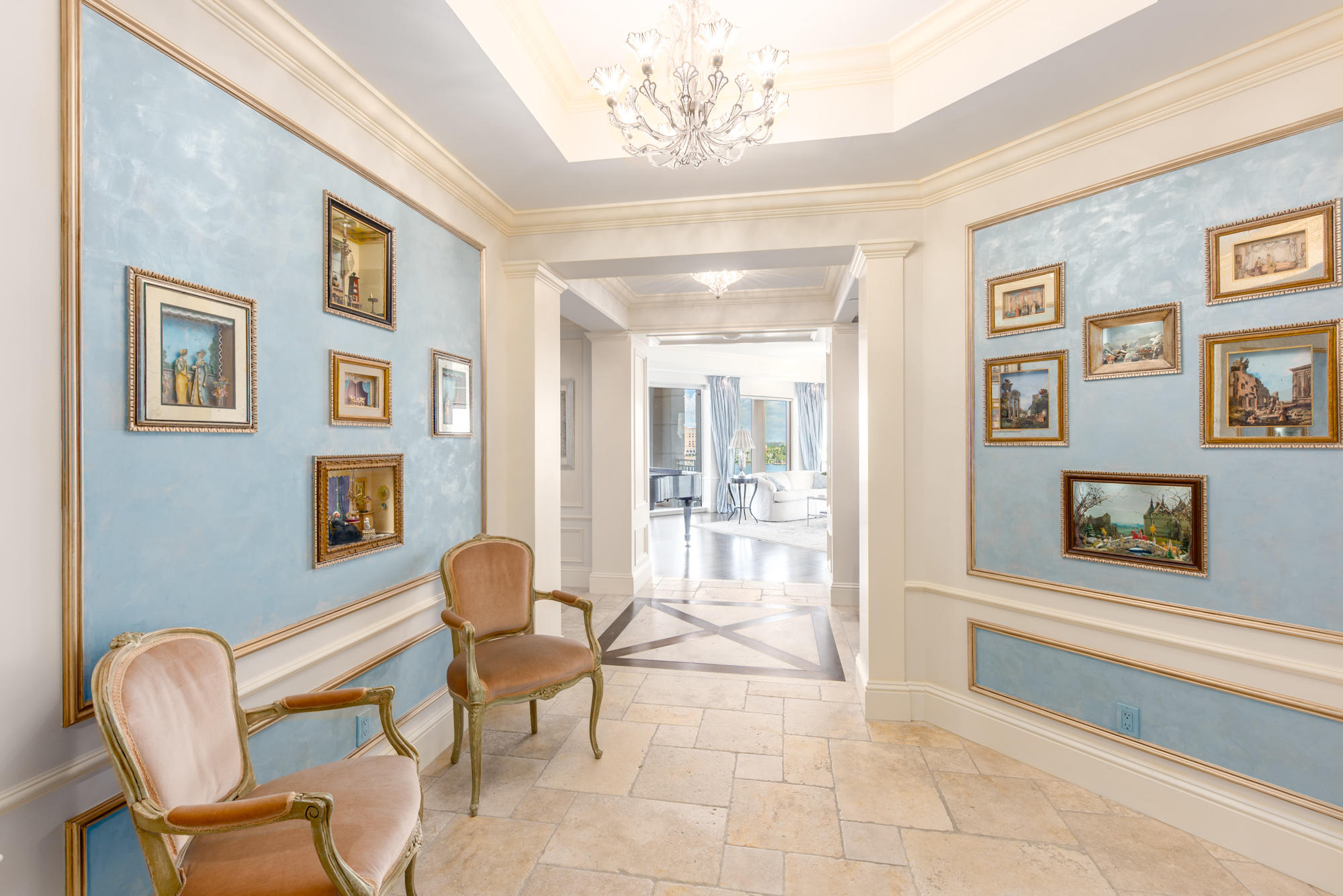 Home for sale in ONE WATERMARK PLACE OF THE PALM BEACHES CONDOMINIUM West Palm Beach Florida