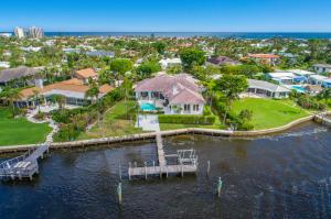 Maison unifamiliale pour l Vente à Jupiter Inlet Beach Colony, 89 Lighthouse Drive 89 Lighthouse Drive Jupiter Inlet Colony, Florida 33469 États-Unis