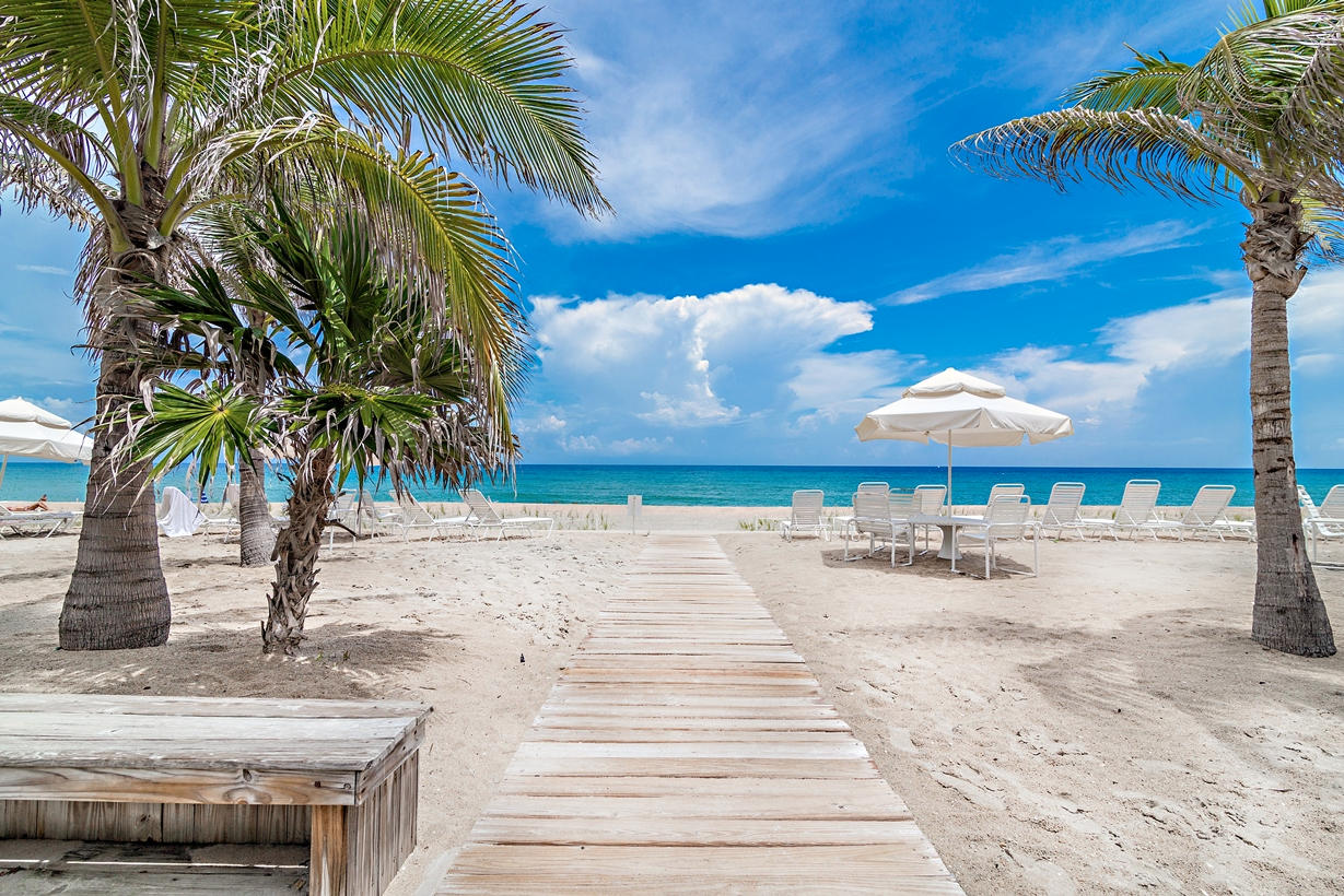 Home for sale in Ocean Towers Palm Beach Florida