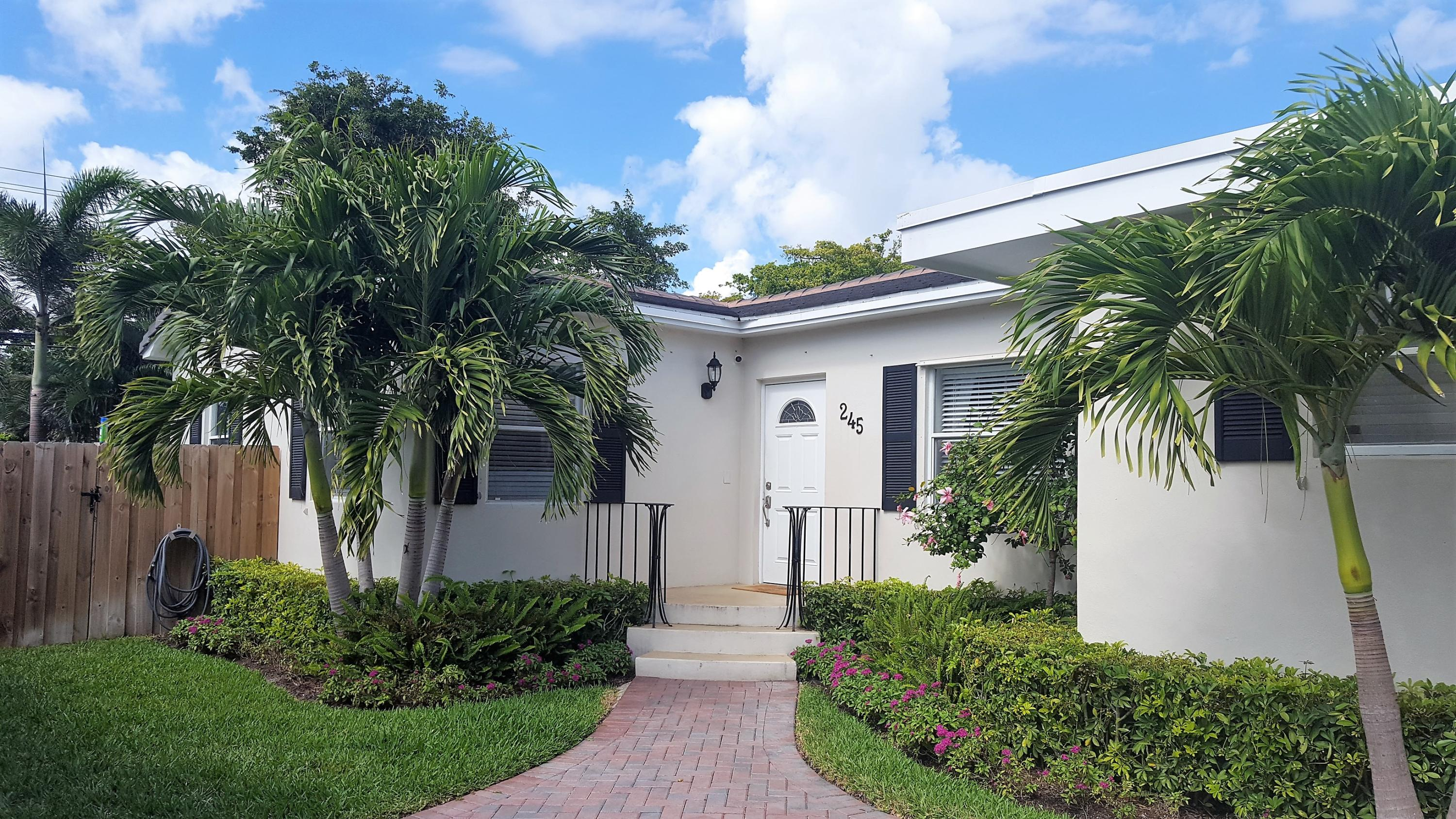 245 Greenwood Drive West Palm Beach, FL 33405