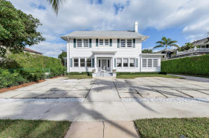 Special opportunity to either remodel or build on the Ocean Block on one of the Iconic Sea Streets in Palm Beach.