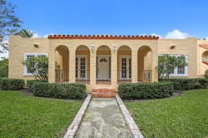 Casa para uma família para Venda às 2015 Lake Avenue 2015 Lake Avenue West Palm Beach, Florida 33401 Estados Unidos