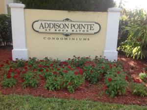 Addison Pointe At Boca Raton Condo