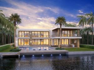 ''New'' Tropical Modern Intracoastal estate on prestigious Spanish River Road by JH Norman Construction and designed by famed Brenner Architecture Group.An expansive motor court leads to this ''Tour de Force'' modern architectural statement encased in glass showcasing fabulous views of the waterway from all major rooms.Resort-like entertaining is enjoyed at the sun splashed pool with spa, grand lanai featuring a professional bar with grilling station.  Shown by Appointment Only.