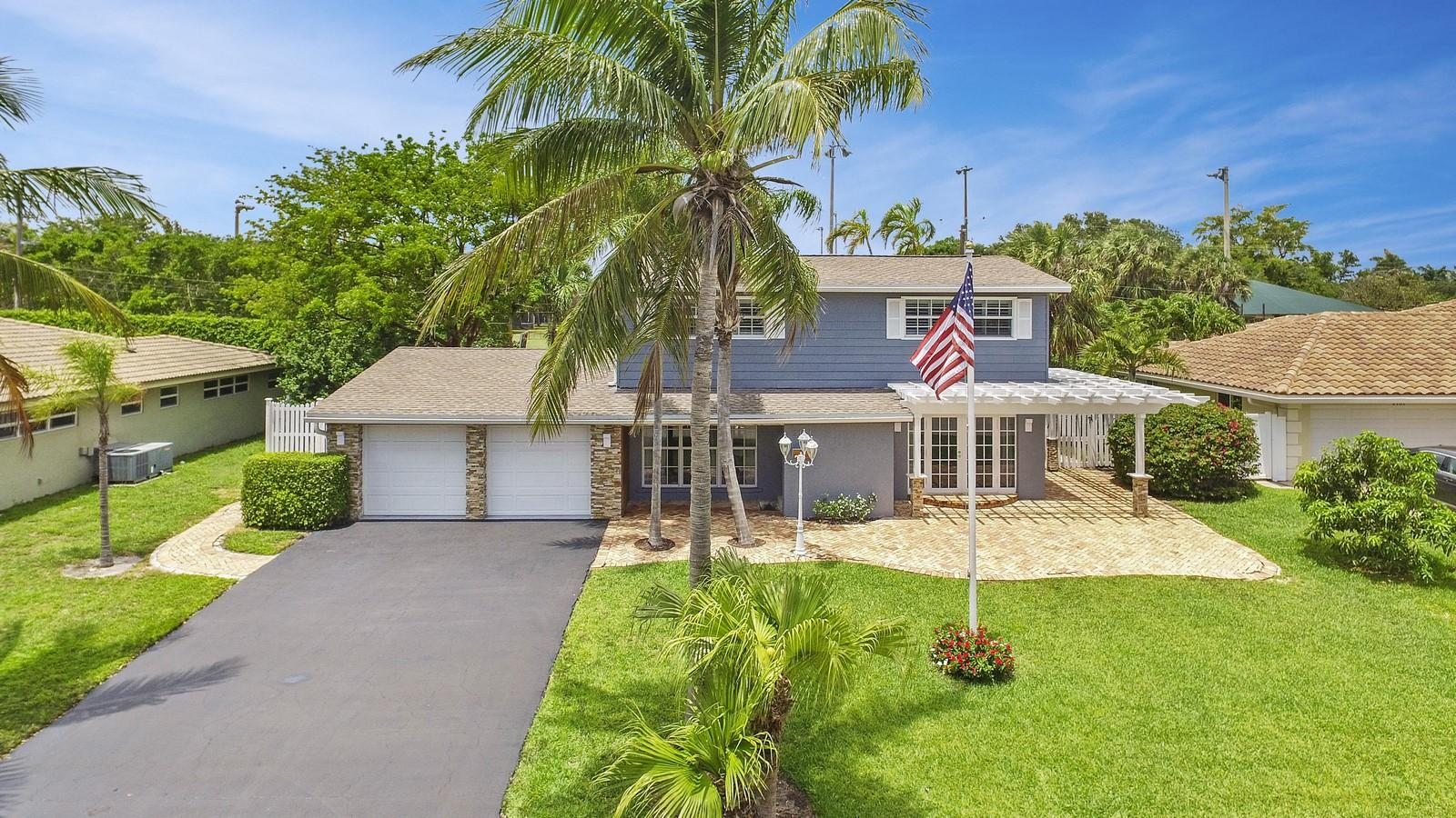 Home for sale in Venetian Isles Lighthouse Point Florida