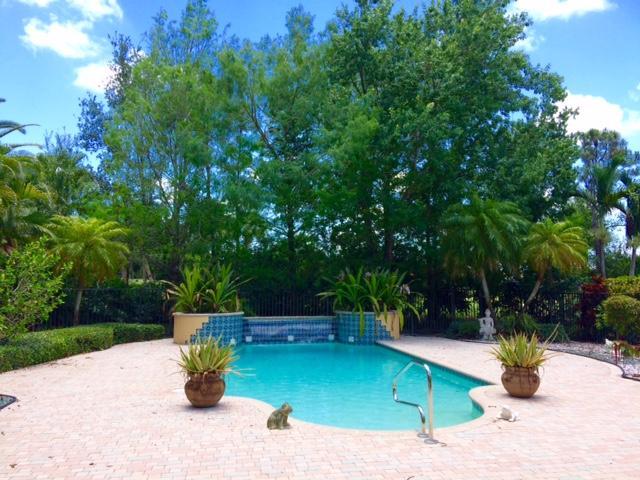 Grand pool area