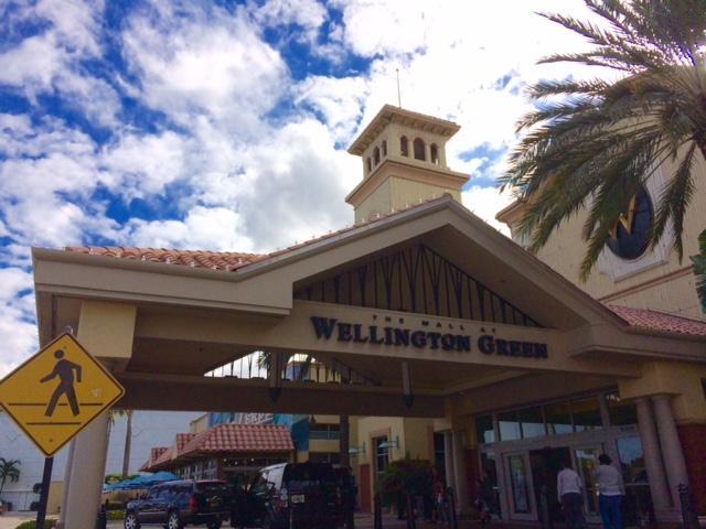 Wellington Green Mall Entrance