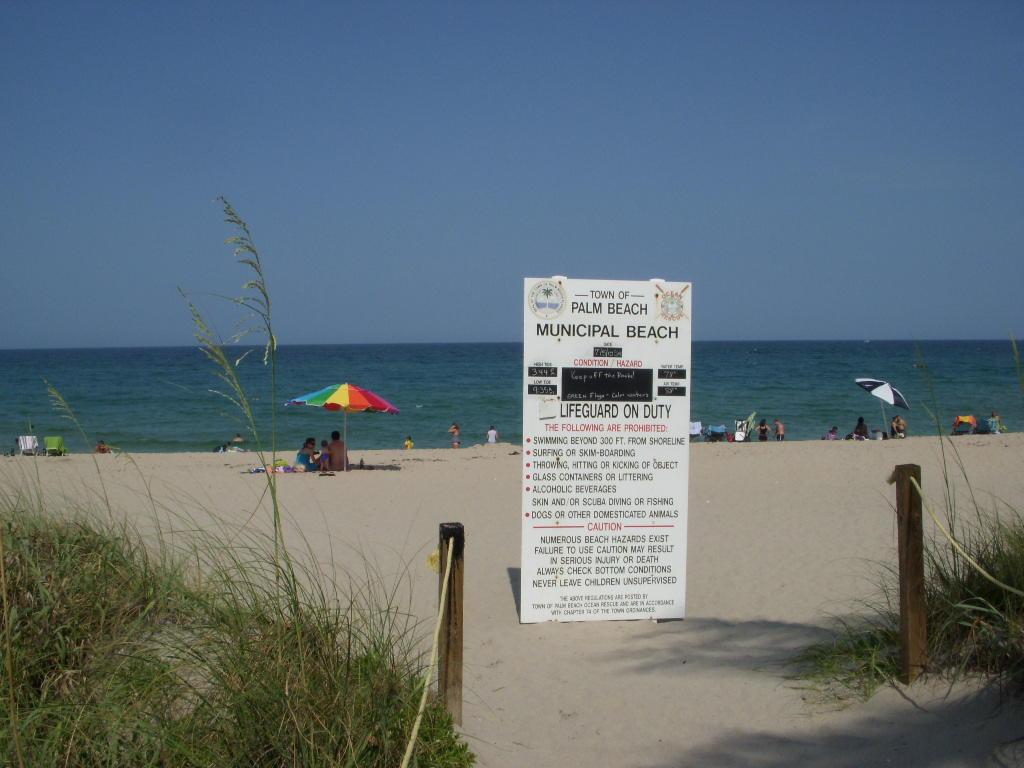 Palm Beach nearby
