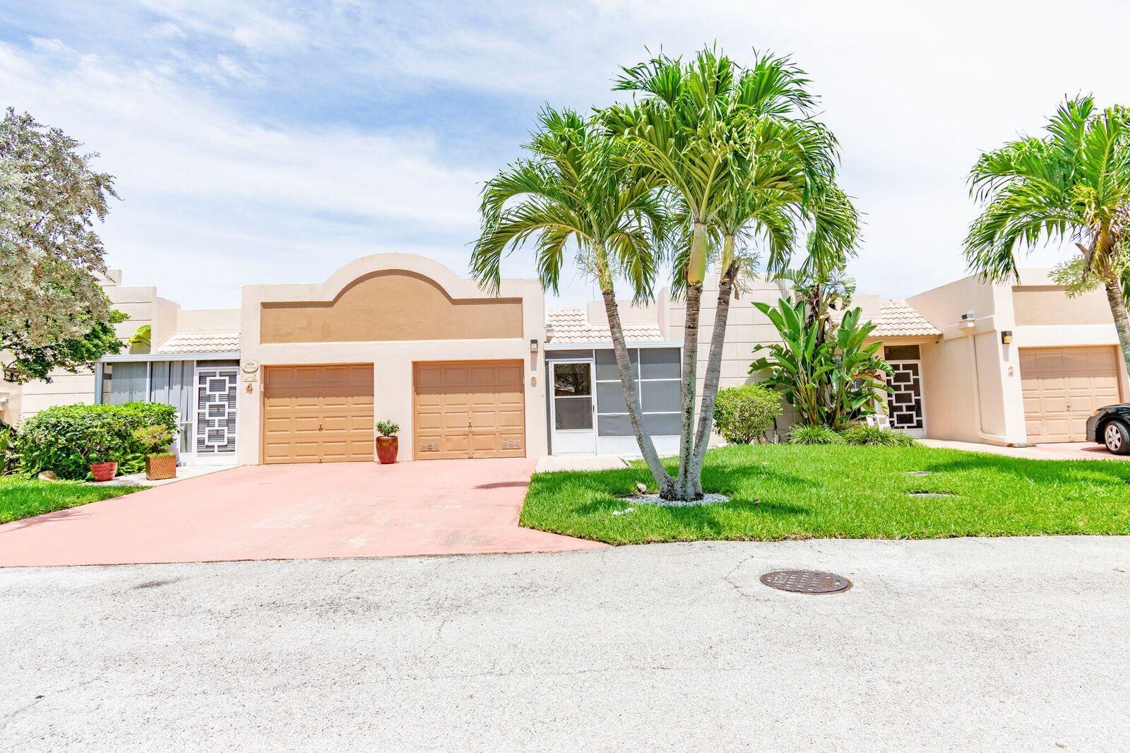 Home for sale in Town Villas Boca Raton Florida