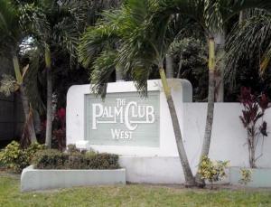 Palm Club West Village 1 Condo