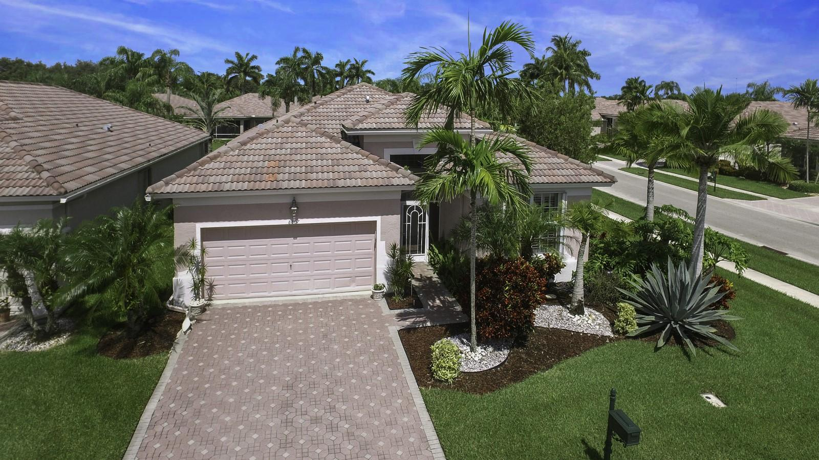 Home for sale in Aberdeen Country Club Boynton Beach Florida