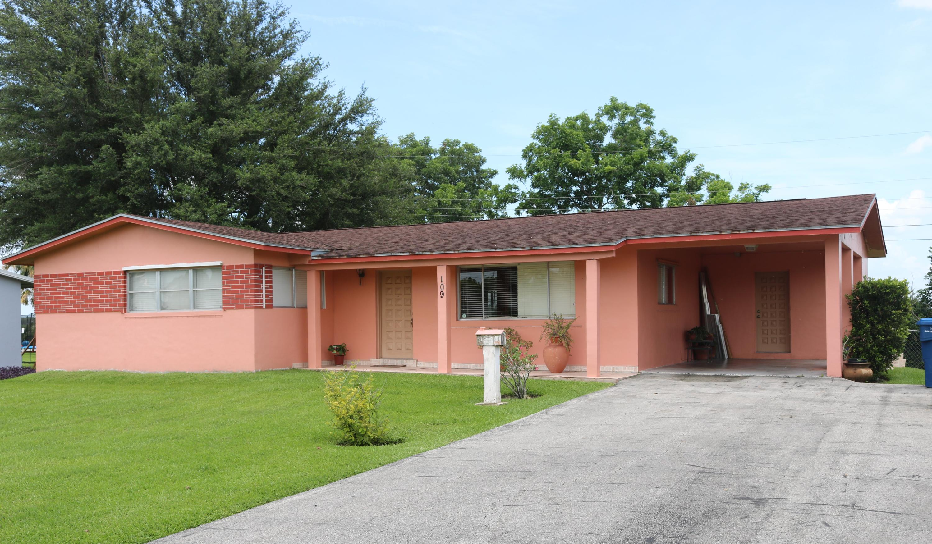 Home for sale in EASTLAKE PARK ADD 3 Belle Glade Florida