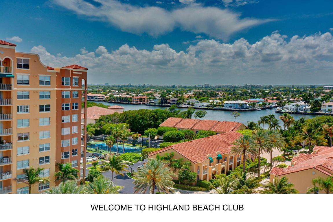 HIGHLAND BEACH HIGHLAND BEACH REAL ESTATE