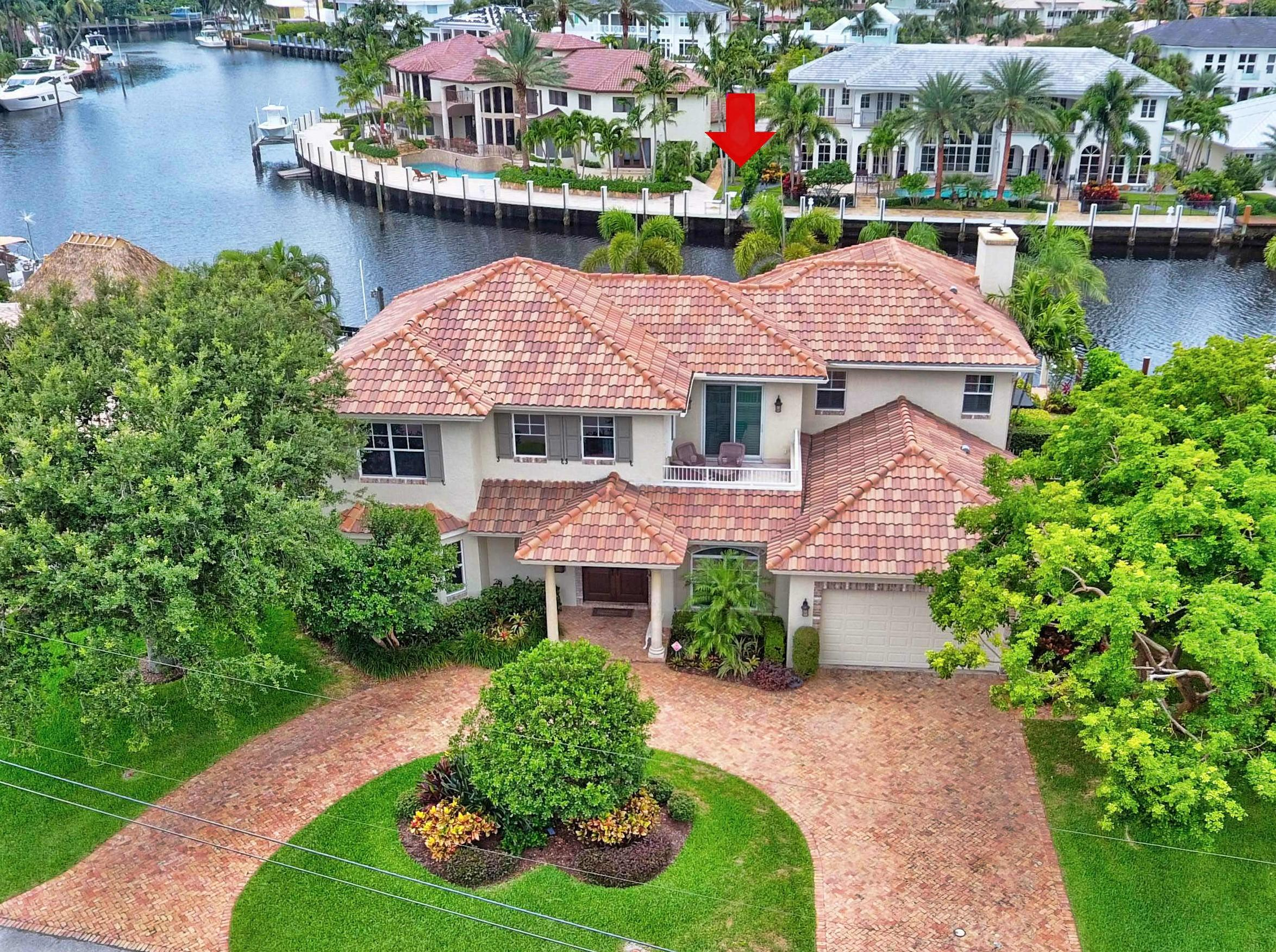 Home for sale in Lighthouse Point 6th Sec- Lake Placid Lighthouse Point Florida