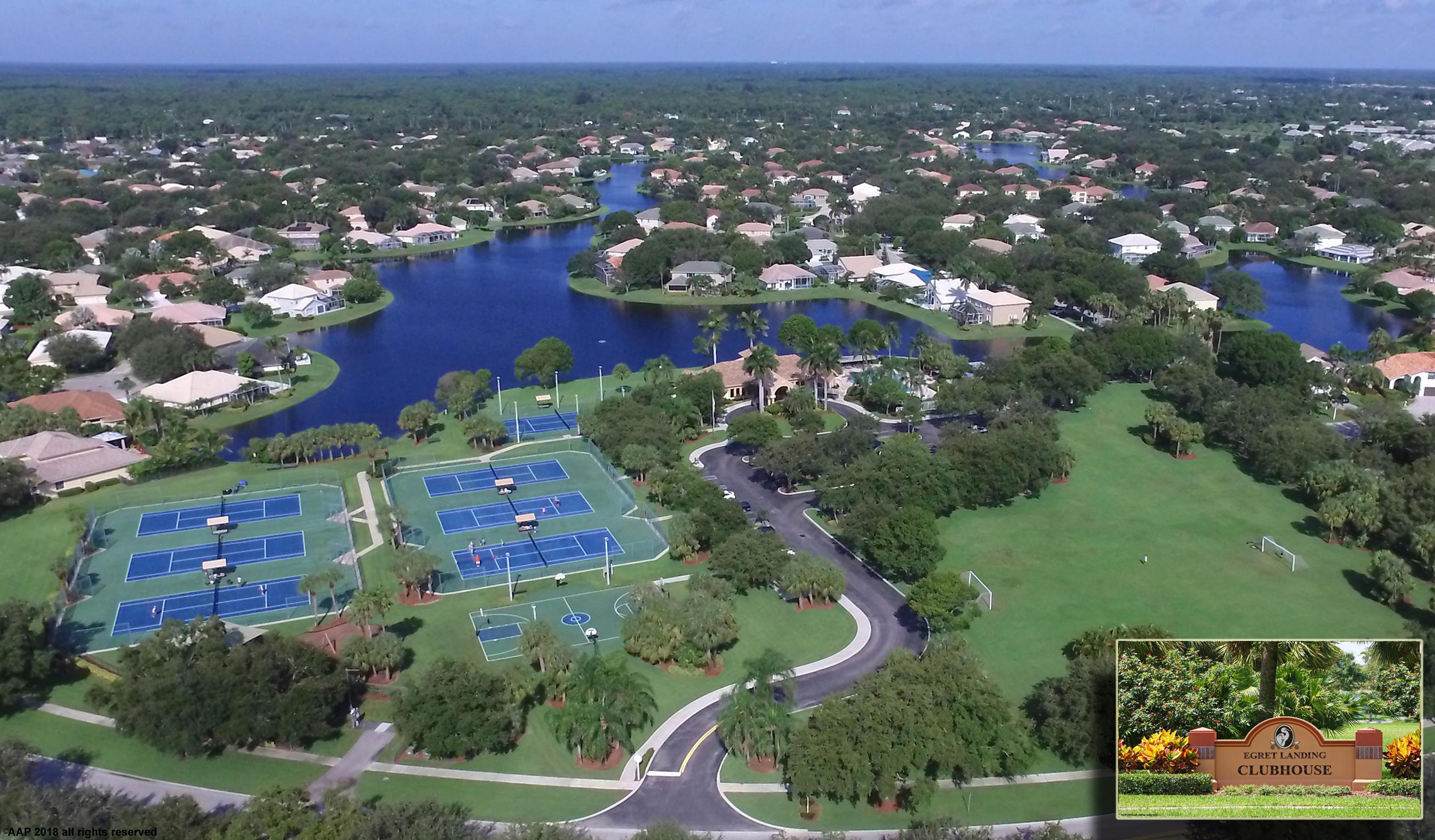 EGRET LANDING JUPITER FLORIDA