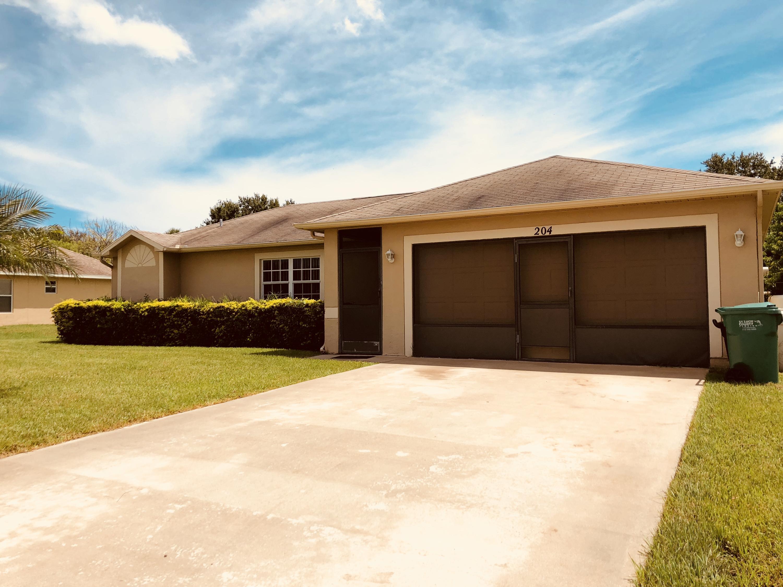 Home for sale in SANDALWOOD  ESTATE SUBDIVISION Fort Pierce Florida