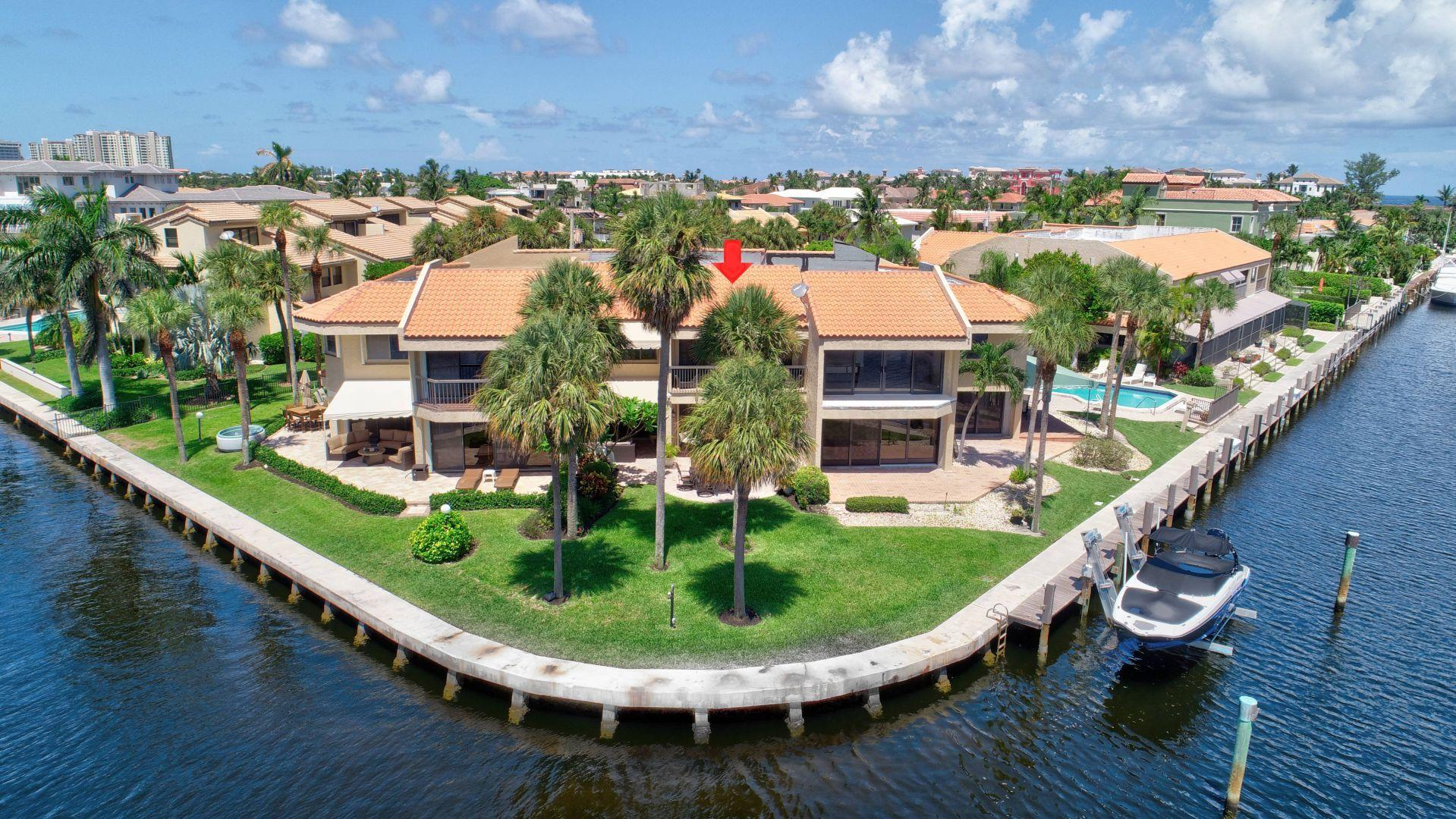 Home for sale in Yachtsmans Cove Highland Beach Florida