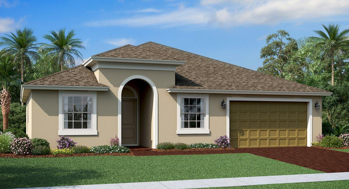 Photo of home for sale at 4210 Birkdale Drive, Fort Pierce FL
