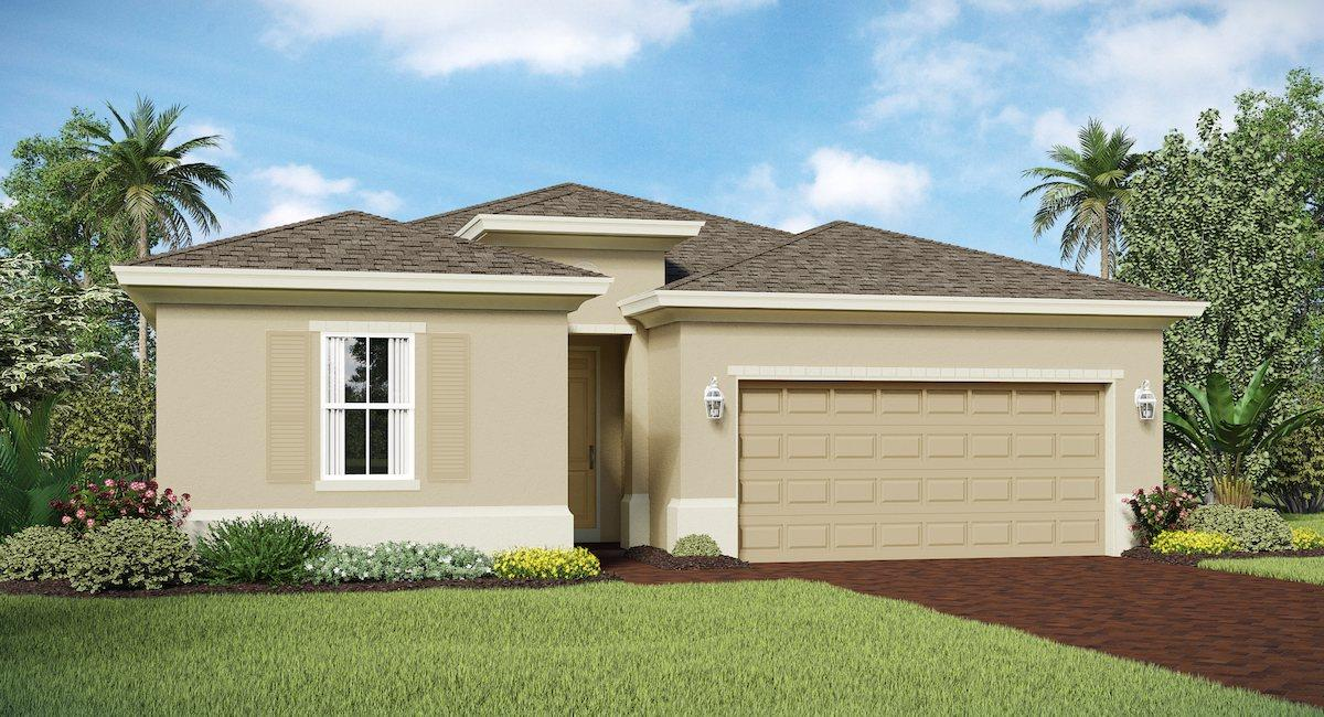 Photo of home for sale at 4220 Birkdale Drive, Fort Pierce FL