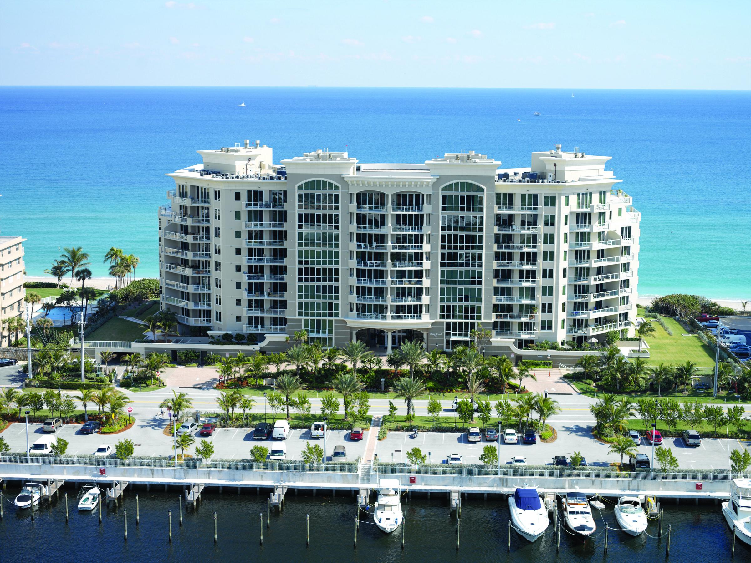 Photo of home for sale at 1063 Hillsboro Mile, Hillsboro Beach FL