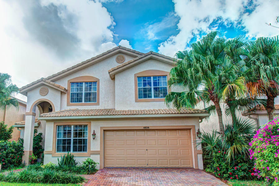 Photo of home for sale at 4834 Classical Boulevard S, Delray Beach FL