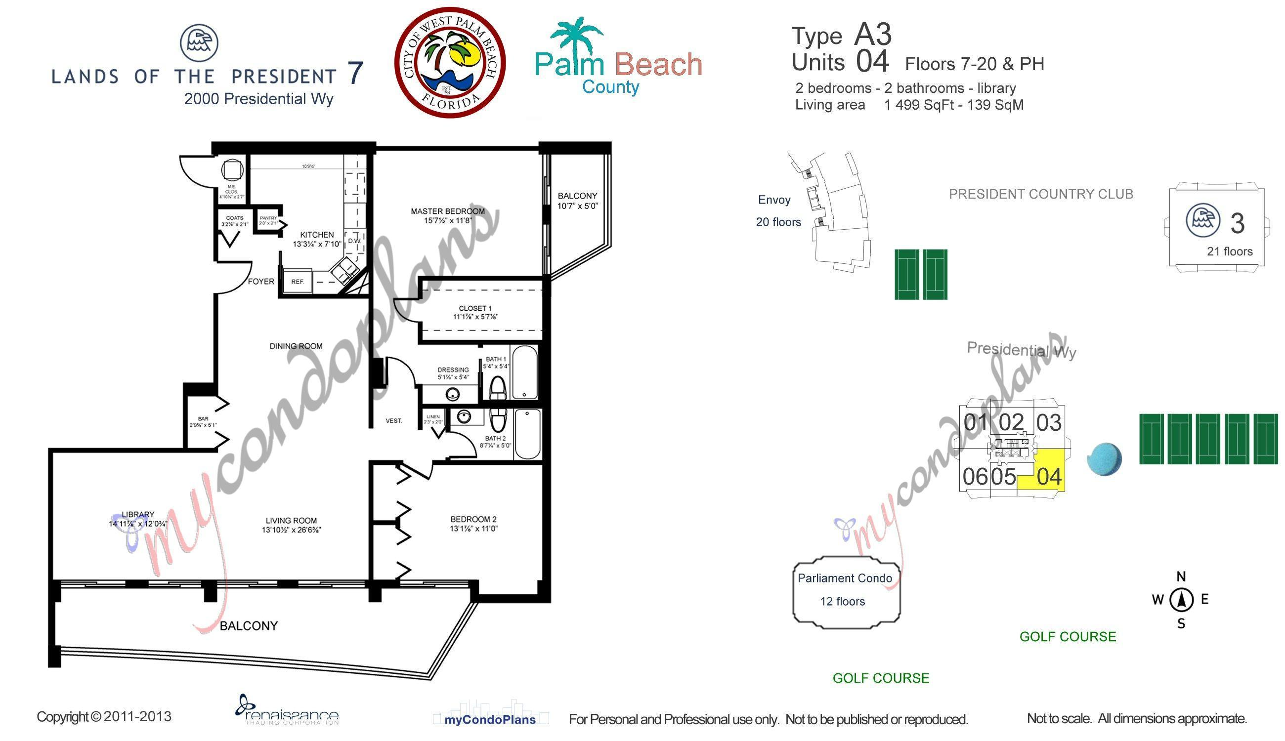 2425 Presidential Way 904 West Palm Beach, FL 33401 photo 20