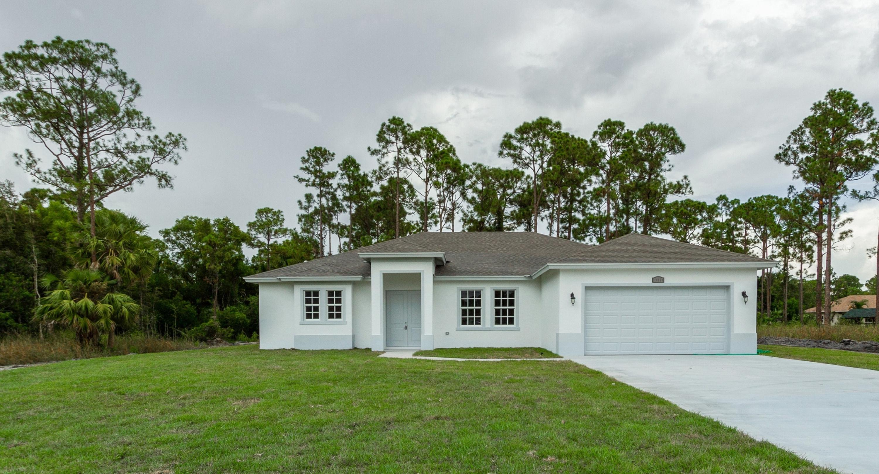Photo of home for sale at 13171 Orange Boulevard, West Palm Beach FL